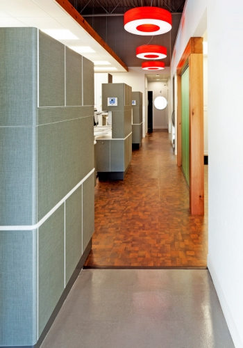 Corridor at Redtree Dental in Fairview